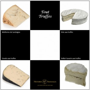 Plateau Tout Truffes, 4 fromages
