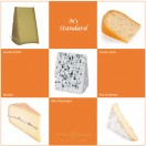 Plateau Standard, 5 fromages