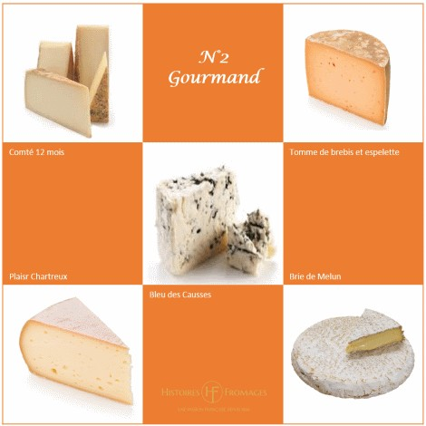 Gourmand, 5 fromages